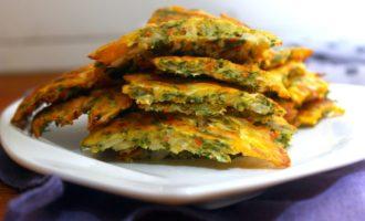 овощные оладьи в духовке