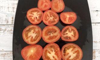 помидоры яйца чеснок сыр