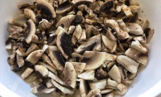 французский киш с курицей и грибами фото рецепт