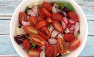 сыр фета огурцы салат