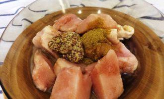 шашлык из куриной грудки в духовке рецепт