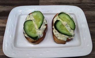 бутерброды со шпротами и свежим огурцом пошаговый