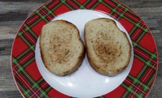 бутерброд со шпротами чесноком и огурцом рецепт