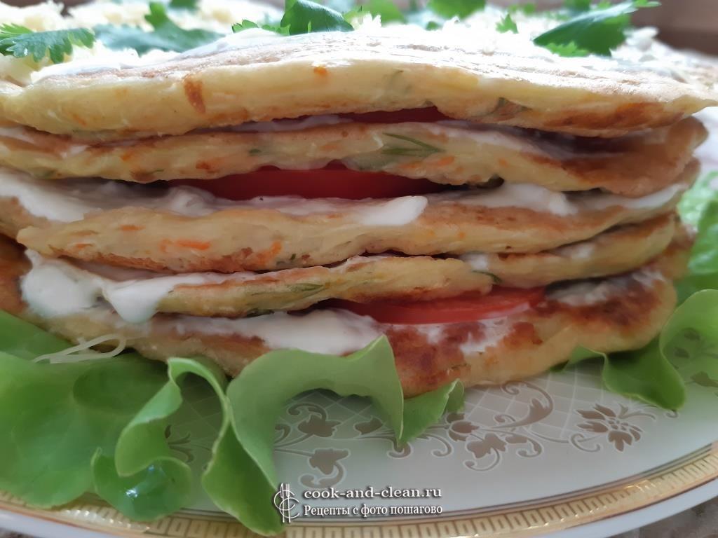 кабачковый торт рецепт с помидорами