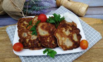 оладьи из кабачков с беконом пошаговый рецепт