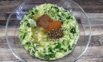 оладьи из кабачков с зеленью рецепт с фото