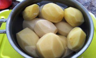 жареная картошка с беконом с фото