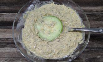 кабачки в кляре с сыром и сметаной пошаговый