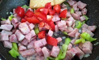 кабачки с ветчиной рецепт с фото