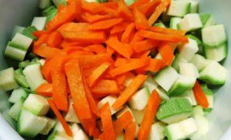 как делать овощное рагу с кабачками