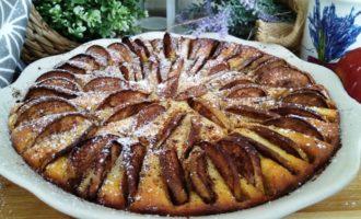 как приготовить творожная запеканка с яблоками и корицей