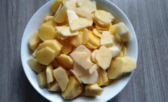 картофель жареный с грибами рецепт