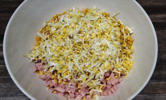 крабовый салат с ветчиной рецепт с фото