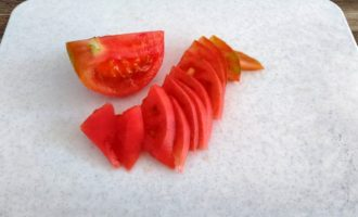 макароны с беконом и помидорами фото