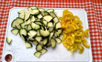 овощное рагу с куриными сердечками рецепт