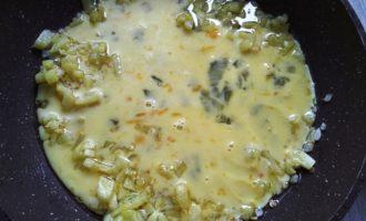 омлет с картошкой на сковороде пошаговый рецепт