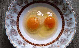 омлет с картошкой на сковороде с фото