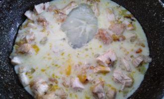 омлет с курицей и сыром рецепт с фото