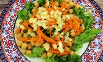 салат с нутом рецепт с фото