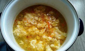суп с сырными клецками пошаговый рецепт