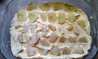 творожная запеканка с яблоками в духовке пошагово