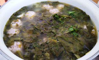 щавелевый суп с фрикадельками пошаговый рецепт