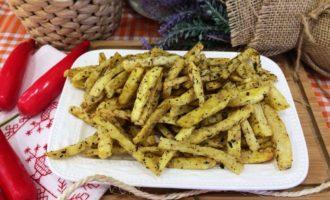 вкусный картофель фри