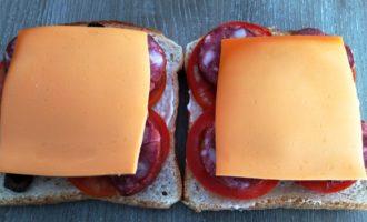 горячие бутерброды на скорую руку пошагово