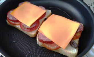 горячие бутерброды на скорую руку пошаговый
