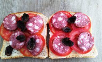 горячие бутерброды на скорую руку рецепт с фото