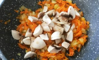 грибной суп с цветной капустой с фото