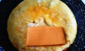 идеальный омлет пошагово