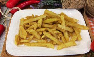 как приготовить картофель фри с паприкой