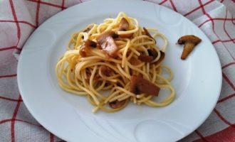 как приготовить макароны с шампиньонами