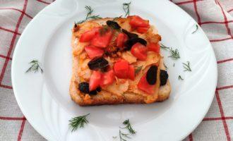 как приготовить сочные горячие бутерброды