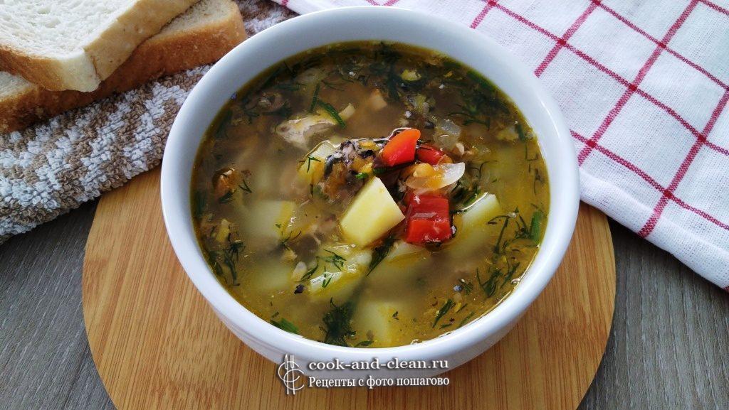 как приготовить суп из консервы скумбрия