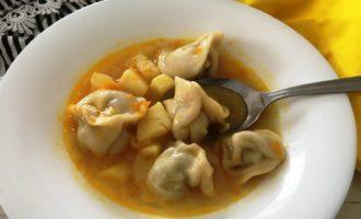 как приготовить суп из пельменей