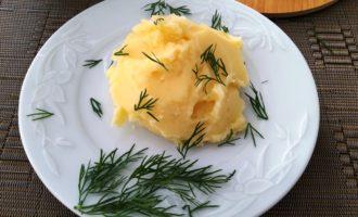 картофельное пюре с чесноком рецепт с фото
