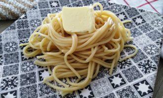 макароны со сливочным маслом