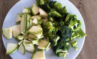 овощное рагу с брокколи фото
