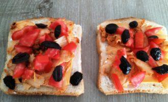 сочные горячие бутерброды пошагово