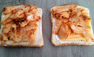 сочные горячие бутерброды с фото