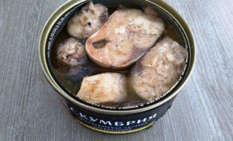 суп из консервы скумбрия пошагово