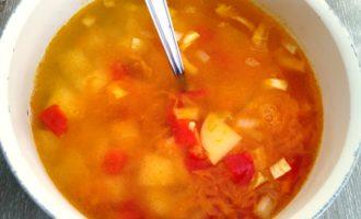 суп из консервы скумбрия рецепт с фото