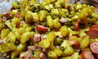 Вкусный ужин из картошки в духовке