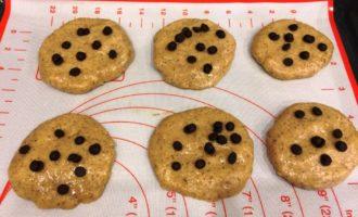 американское печенье с шоколадом пошагово