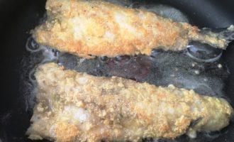 вкусная жареная рыба пошаговый