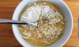 жареные кабачки в кляре с сыром пошагово