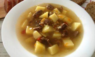 как приготовить суп из говядины с картошкой
