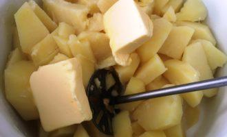 картофельное пюре с грибами рецепт с фото